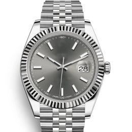 $enCountryForm.capitalKeyWord NZ - Rose Gold Luxury Datejust 41 Mm Automatic Mechanical DARK RHODIUM DIAL JUBILEE BRACELET Women Sport Watch Men Mens Watches Wristwatches