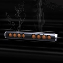$enCountryForm.capitalKeyWord NZ - Solid Wood Beads Car Outlet Perfume Aroma Car Solid Incense Stick Fragrance Creative Supplies