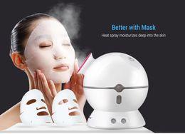 $enCountryForm.capitalKeyWord Australia - K_SKIN Portable Deep Cleanser Herbal vaporizer Spray Mini Table Ozone Facial Steamer Skin Care Spa Salon Moisturizing Face steamer BB