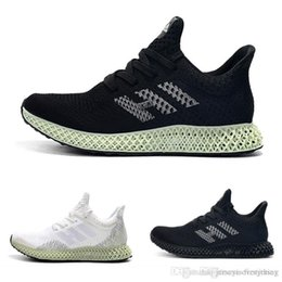 ash sneakers sizing Canada - Futurecraft Men Black White Athletic Shoes Fashion Designer Alphaedge Ash Grey Onix Aero Running Sports Sneakers Trainer size 40-45
