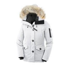 $enCountryForm.capitalKeyWord Australia - Women's Outdoors Fur Goose Down Jacket Winter Women's Parka Fashion Breathable Warm 90% White Goose Down Jacket