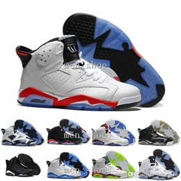 Men S Cheap Shoes Australia - Cheap New VI 6 Wholesale Mens Basketball Shoes Infrared 6s Sneakers Women Men 6 VI Sport Basketball Shoes GS Valentine s Day Shoes 4-5-10-1