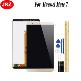 $enCountryForm.capitalKeyWord Australia - JRZ For Huawei Mate 7 LCD Display + Touch screen Digitizer Assembly Replacement for Huawei Ascend Mate 7+Tools+3M Tape