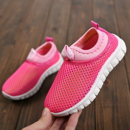 $enCountryForm.capitalKeyWord Australia - 2019 Spring New Children Net Shoes Kids Sneakers Small White Tennis Shoes Children Hollow Out Breathe Shoes
