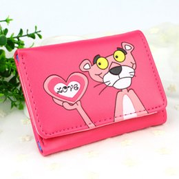 Lovely Cards Australia - Lady Purses Lovely Cartoon Prints Women Wallets Short Moneybags Girls Wallet Photo Cards Holder Coin Purse Pocket Bags Notecase