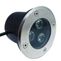 Wholesale Fanlive 10pc LED Underground Light Floor Lamp IP67 Waterproof 3W 85-265V LED Outdoor Ground Path Floor Yard Lamp garden lighting