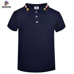 Children White Tees Australia - 2019 Summer Boys T Shirt 100%cotton Short Sleeve Kids T Shirt For Boy Top Tees Soild Boys T-shirt Children Clothing 3-7years Y190518