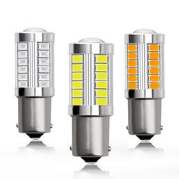 Lamp ba15d online shopping - 4X BA15S BA15D P21W SMD LED Bulb With Len Car Tail Brake Lamp Auto Reverse Lamp Daytime Running Light