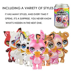 $enCountryForm.capitalKeyWord Australia - Sparkly Poopsie Slime Surprise Unicorn Product Squeeze Sparkly Critters Cans Shaky Toys Gifts for kids Birthday gifts Party Favo