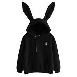 $enCountryForm.capitalKeyWord UK - Women's 2019 Hot Sale Cute Bunny Girl Hoodie Casual cute longsleeve Sweatshirt Pullover with Ears S-XL ladies top Sweatershirt
