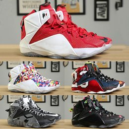 $enCountryForm.capitalKeyWord Australia - 12 New Ps Elite High Cut Designer Fashion Basketball Shoes Mens Comfortable Sports Shoes Outdoor Trainers Sneakers Good Quality