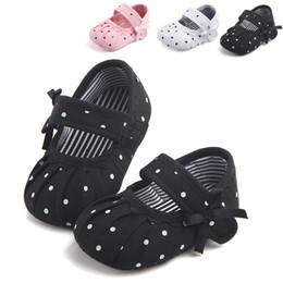 $enCountryForm.capitalKeyWord Australia - Newborn Baby Girls Spring And Autumn Canvas Princess Crib Shoes Soft Sole Pram Prewalker Anti-slip Sneakers Suitable For 0-18M