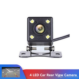 Car Rear View Camera IP68 Waterproof 4 led Night Vision Wide View Angle Back Reverse Parking Assistance Backup Cameras on Sale