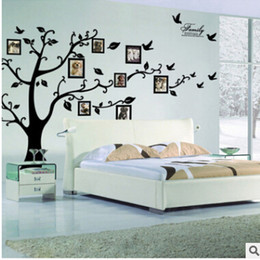 Design Photo Frames Australia - DIY Photo Tree Wall Stickers Creative Photo Frame 3D Self Adhesive Family Wall Sticker Living Room Television Wall Decal Home Decoration