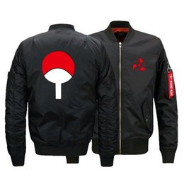 $enCountryForm.capitalKeyWord Australia - Winter MA1 Men Bomber jacket Naruto Uchiha Syaringan Outwear Japan Flight Jackets Male Coat College Outerwear Wholesale