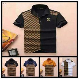 Polo Sportswear Australia - Top Polos men's POLO shirt T-shirt short-sleeved shirt high-quality embroidery printing sportswear wholesale hot women's fashion