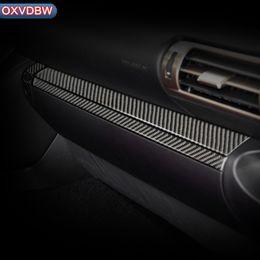 $enCountryForm.capitalKeyWord Australia - 2013-2019 Carbon fiber Car interior Stickers Central Storage box strip switch Frame Trim cover For LEXUS IS300 200 250 350