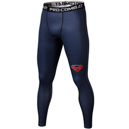 Wholesale men leggings resale online – NewCompression Casual Pants Men Fitness Clothing Skinny Trousers Workout Sweatpants Male Bodybuilding Brand Leggings