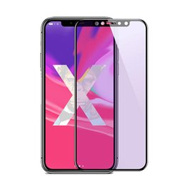 $enCountryForm.capitalKeyWord NZ - Full Cover Tempered Glass for iPhone 6 7 8 Plus X XS Max XR Matte Screen Protector Anti Blue Ray Frosted Screen Film