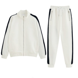 $enCountryForm.capitalKeyWord Australia - High Fashion Mens Womens Designer Tracksuits Brand Jacket + Pant Set Luxury Casual Spring Suits Top Quality Kits Drop Shipping B100273V