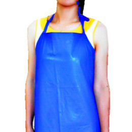 Wholesale 4 OVERSIZE X65cm MM G PVC Waterproof Apron Kitchen Cook Fishing Labor Protection Gift