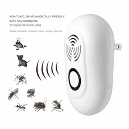 Ultrasonic pest control online shopping - Ultrasonic Pest Reject Electrical Mosquito Repeller Indoor Cockroach Trap Mosquito Killer Pest Control V V CCA11754