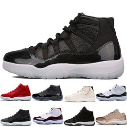 f3478e7e048bfa Concord High 45 11 XI 11s Cap and Gown PRM Heiress Gym Chicago Platinum  Tint retro Space Jams Mens Basketball Shoes sports Sneakers