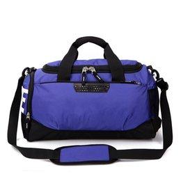 Brand Designer Duffel Bags Women Men Handbags Large Capacity Travel Duffle  Bag Plain Striped Waterproof Sport Bag Shoulder Bags Hot Sale c338bff652a3a