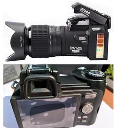 Telescopic Digital Cameras NZ - New PROTAX POLO D7200 digital camera 33MP FULL HD1080P 24X optical zoom Auto focus Professional Camcorder