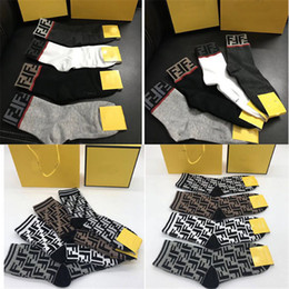 $enCountryForm.capitalKeyWord Australia - F Letter Printed Socks INS Style Men Women Brand Slippers Sock Birthday Gifts Unisex Design Sock With Box