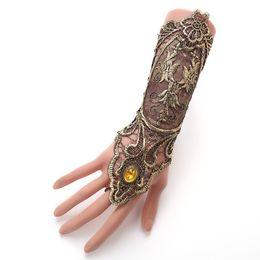 $enCountryForm.capitalKeyWord UK - 2019 cross-border hot selling hand accessories black retro lace lace gloves ladies dress decoration matching bracelet mixed wholesale