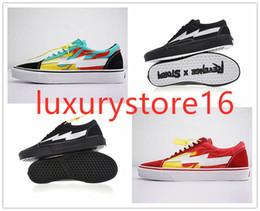 $enCountryForm.capitalKeyWord Australia - Original Revenge x Storm Pop-up Store 3 Lightning Flame Casual Canvas Shoes Designer Zapatillas Old Skool 3s Fashion Women Men Sneakers-asda