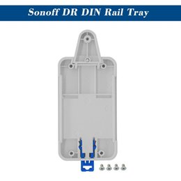 $enCountryForm.capitalKeyWord Australia - SONOFF DR DIN Rail Tray Adjustable Mounted Rail Case Holder For Wifi Remote Control Switch Basic Switchboard RF Pow TH10 16 Dual