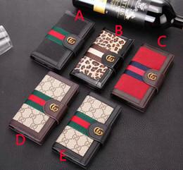 Leopard Flip Wallet Australia - Leopard flip wallet case holster phone case cover for iphone XS MAX XR X 7 7plus 8 8plus 6 6plus with card slot