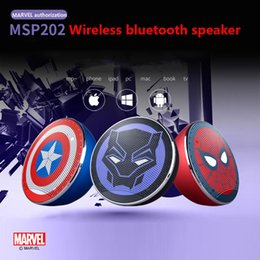 HigH quality portable audio player online shopping - Marvel Avengers Infinite War Genuine Authorized MSP202 High Quality Bluetooth Speaker Outdoor Portable Mini Card