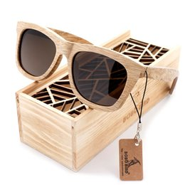 bobo fashion 2019 - BOBO BIRD Men Women Sunglasses Fashion 100% Handmade Wooden Sun glasses polarized Design Summer Style Ladies Eyewear in