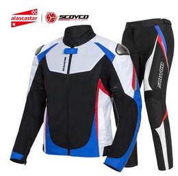 $enCountryForm.capitalKeyWord Australia - Motorcycle Jacket Men Summer Chaqueta Moto Jacket Protective Gear Reflective Motocross Jacket Motorcycle Protection Armor