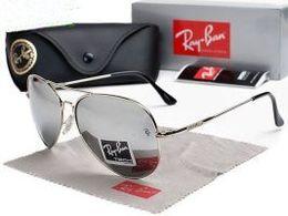 Ray Bans Glasses Australia - 2019 Men Women Ben Glass bain Lenses With Case Ray Brand Sunglasses Vintage Pilot wayfarer Sun Glasses Bans UV400