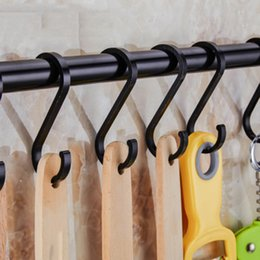 hanging kitchen shelf NZ - Black Kitchen Bathroom Organizer Storage Shelf Multi-functional Cupboard Hanging Hook Shelves For Towel Chest Cup Drainer Holder SH190920