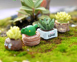 Chinese  Moss micro landscape ornaments fleshy doll ornaments LOVE meaty ornaments DIY materials manufacturers