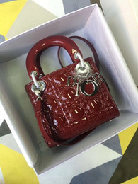 Lacquer Silver Australia - DOIR Lacquer Silver Hardware red Princess WOMEN HANDBAGS ICONIC TOP HANDLES SHOULDER BAGS TOTES CROSS BODY Bag CLUTCHES