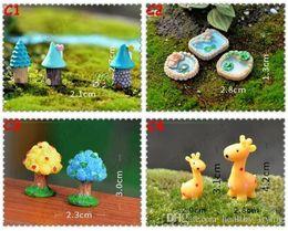 $enCountryForm.capitalKeyWord Australia - Resin Garden Decorations Fairy Garden Miniatures Cute Figure Animal Tree House Crafts Mini Tree Decor Landscape Ornament Fairy Garden