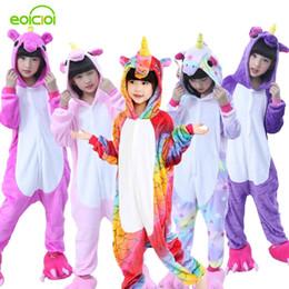 17636e7230 Flannel winter Pegasus christmas pajamas pink unicorn pajamas for girls cartoon  animals Hooded sleepwear onesie Boy pyjamas kids