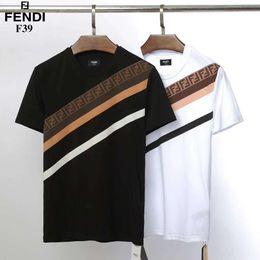 Hot 2019 T-shirt dos homens de verão de manga curta T-shirt dos homens de moda em torno do pescoço T-shirt Casual em Promoção