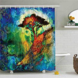 $enCountryForm.capitalKeyWord Australia - Fairy Shower Curtain, Three Dimensional Mythical Creature Design with Magical Artifact on Pedestal Forest, Fabric Bathroom Decor Set