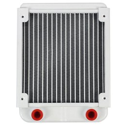led heat sinks Australia - Aluminum Water Cooling 120 Radiator Led Cpu Liquid Cooler For 120Mm Fan G1 4 Heat Sink Exchanger Cooled Computer Pc