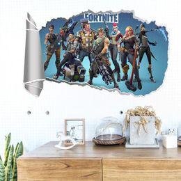 $enCountryForm.capitalKeyWord NZ - Designer Kids Room 3D Cartoon Game PVC Wall Stickers Decal Royale Wall Decor Vinyl Wall Art Stickers Decals styles HQ051