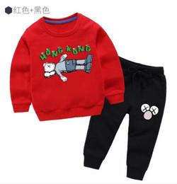 $enCountryForm.capitalKeyWord Australia - 2019 Little Kids Sets 1-7T Kids T-shirt And Short Pants 2Pcs sets Baby Boys Girls 95% Cotton Tiger Design Printing Style Summer Sets