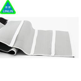 $enCountryForm.capitalKeyWord Australia - Adjustable Heating Sauna Belt Slimming Belt Burner Belly Fitness Body Wrap Cellulite Shaper Men Women 5 Zippers Wrap Neoprene