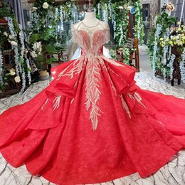 Sequin Art Patterns Australia - 2019 Latest Luxury Evening Dresses Open Keyhole Lace Up Back Tassel Short Sleeve Illusion O Neck Ruffle Sequins Crystal Pattern Evening Gown